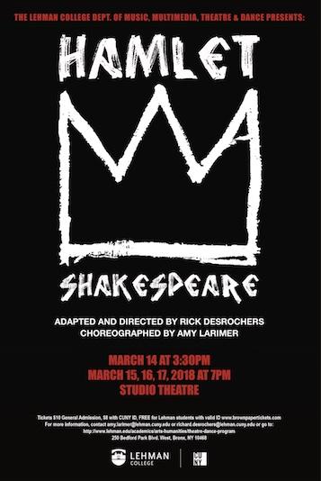 Shakespeare's Hamlet 3/14/2018 Lehman College