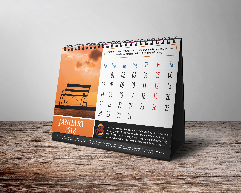 Desk Calendar Design | See Outlook