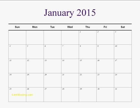 Publisher Weekly Calendar Template Lovely Understated Calendar
