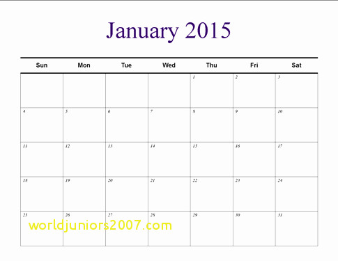 Top Result Horizontal Calendar Template Awesome Understated