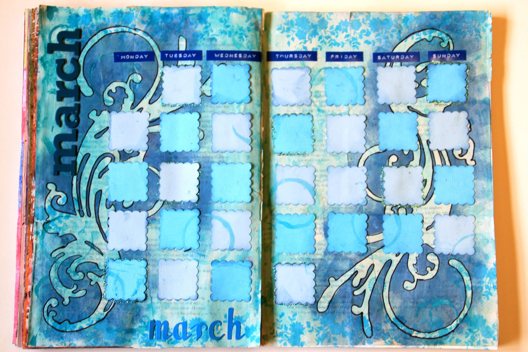 Art Calendar Journaling with Kate Crane