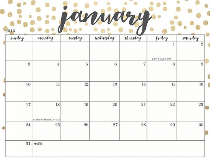 cute january 2018 calendar printable Ideal.vistalist.co