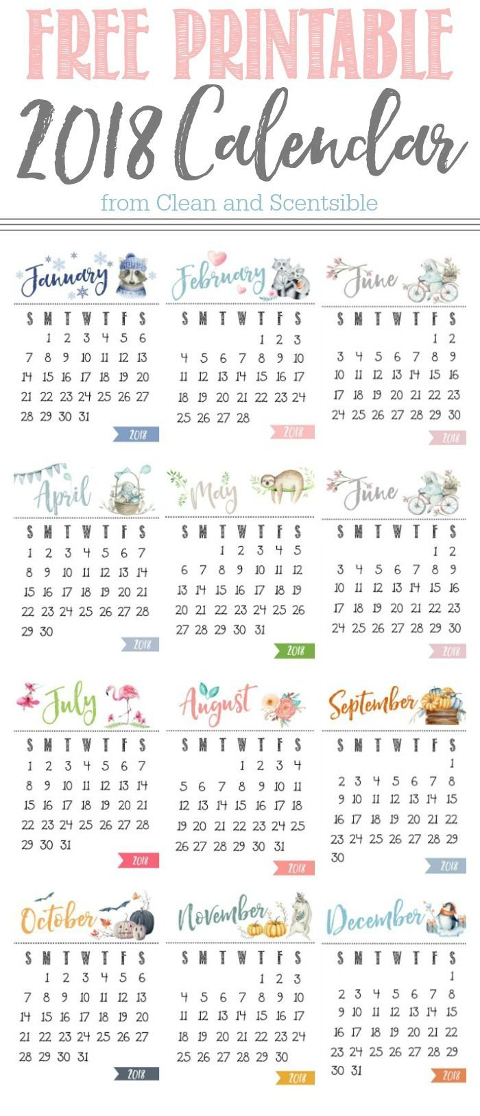 Free Printable Calendar | Yearly, Clipboards and Free printable