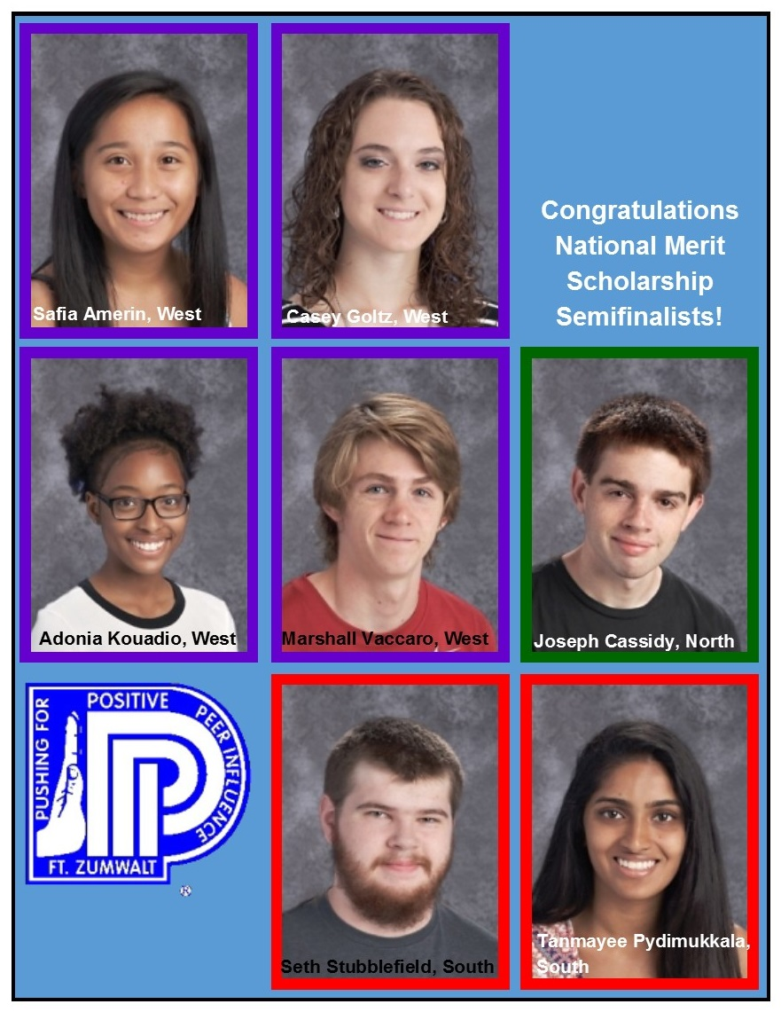 Seven qualify after taking PSAT/NMSQT Fort Zumwalt School District