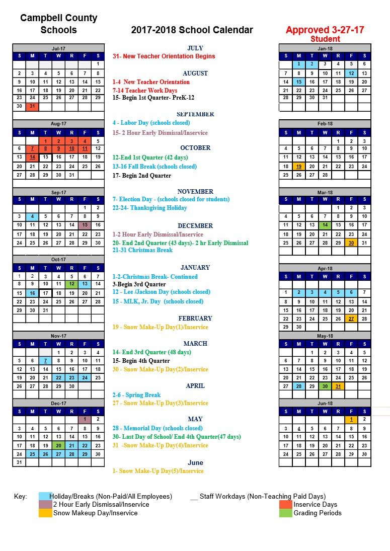 Howard County Public Schools Calendar 2016 17 Cryptorich