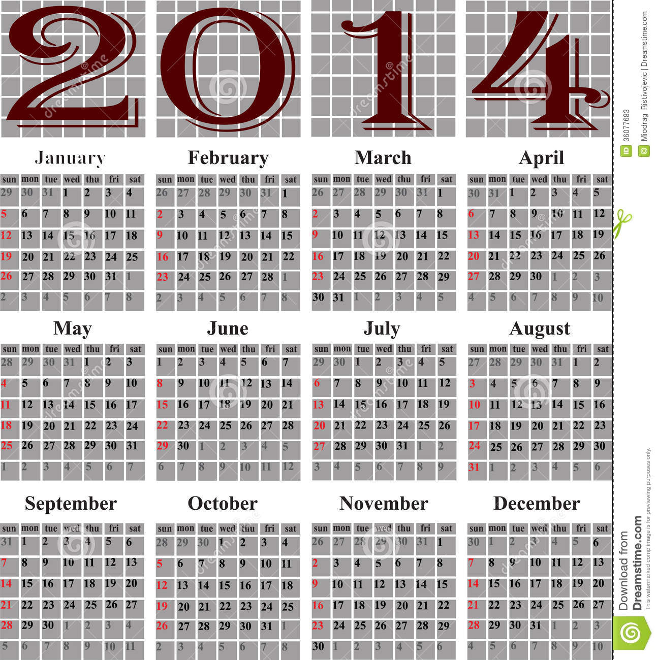 julian calendar 2014 Ideal.vistalist.co