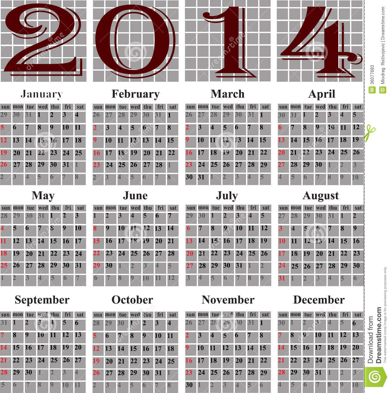 julian calendar 2014 Ideal.vistalist.co