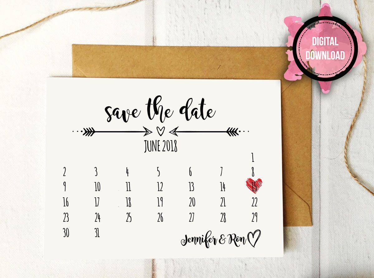 calendar save the date template Ideal.vistalist.co