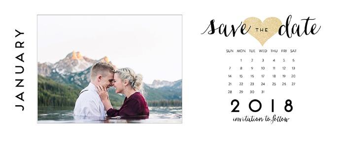 Print Free Printable Photo Save The Dates