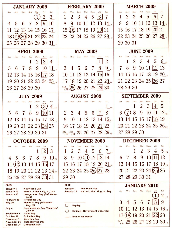 Printable Pay Period Calendar 2018 | Calendar 2018 Printable