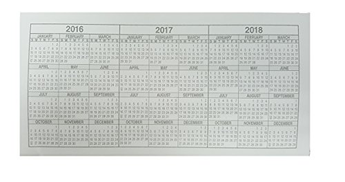 10 Checkbook Registers 2016 2017 2018 Calendars Today Accessories