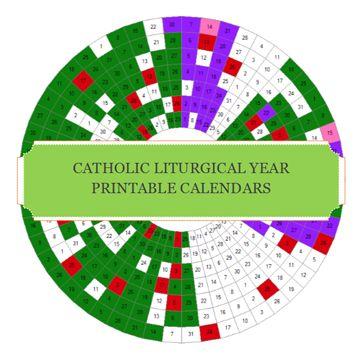 41 best Catholic Liturgical calendar images on Pinterest