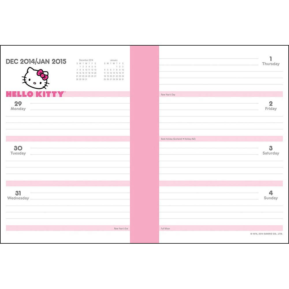 Blank Monthly Calendar Free Hello Kitty June 2018 | Calendar