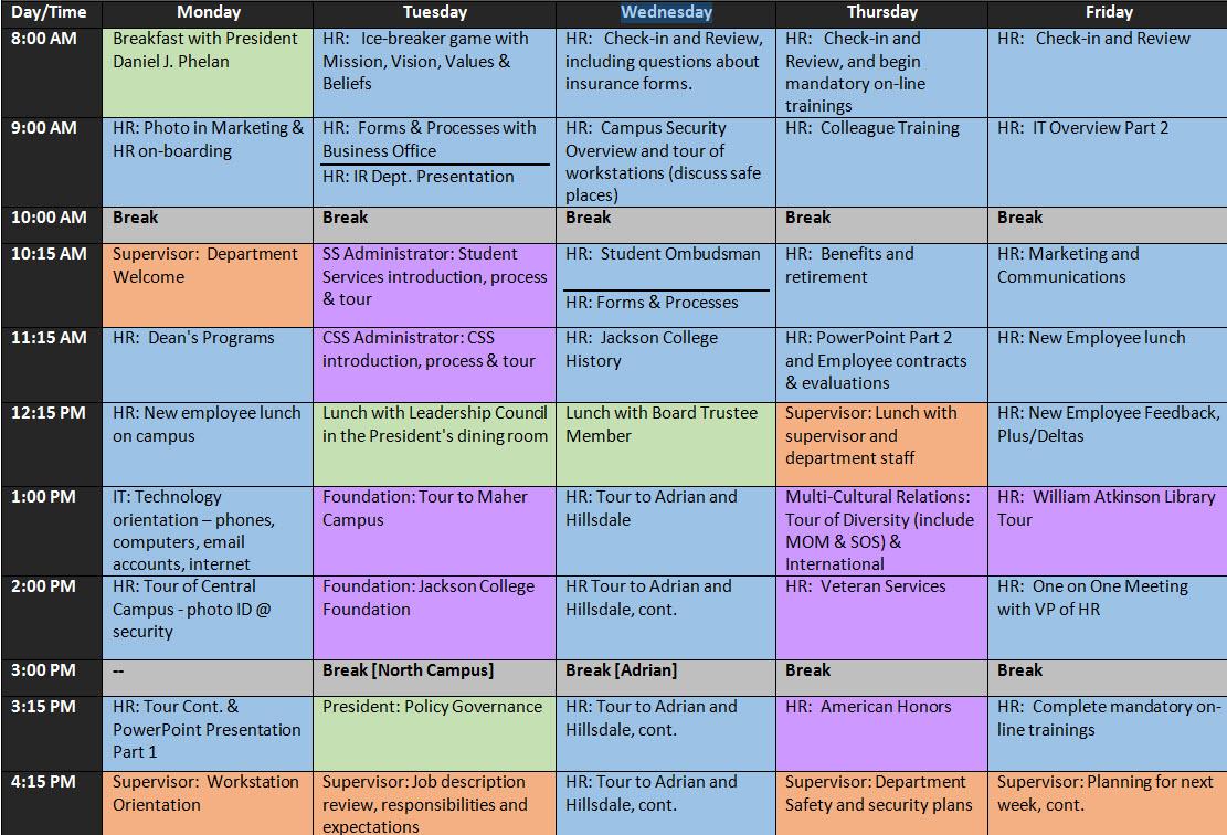 Human Resource Calendar Template | Calendar Template 2018