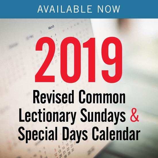 Church Year Calendar 2019, Year C: Downloadable