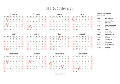 Printable 2019 Calendars (PDF)   Calendar 12.com