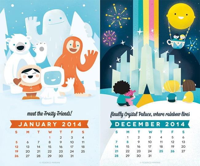 Kids Calendar Template   9+ Free Calendar Templates Download