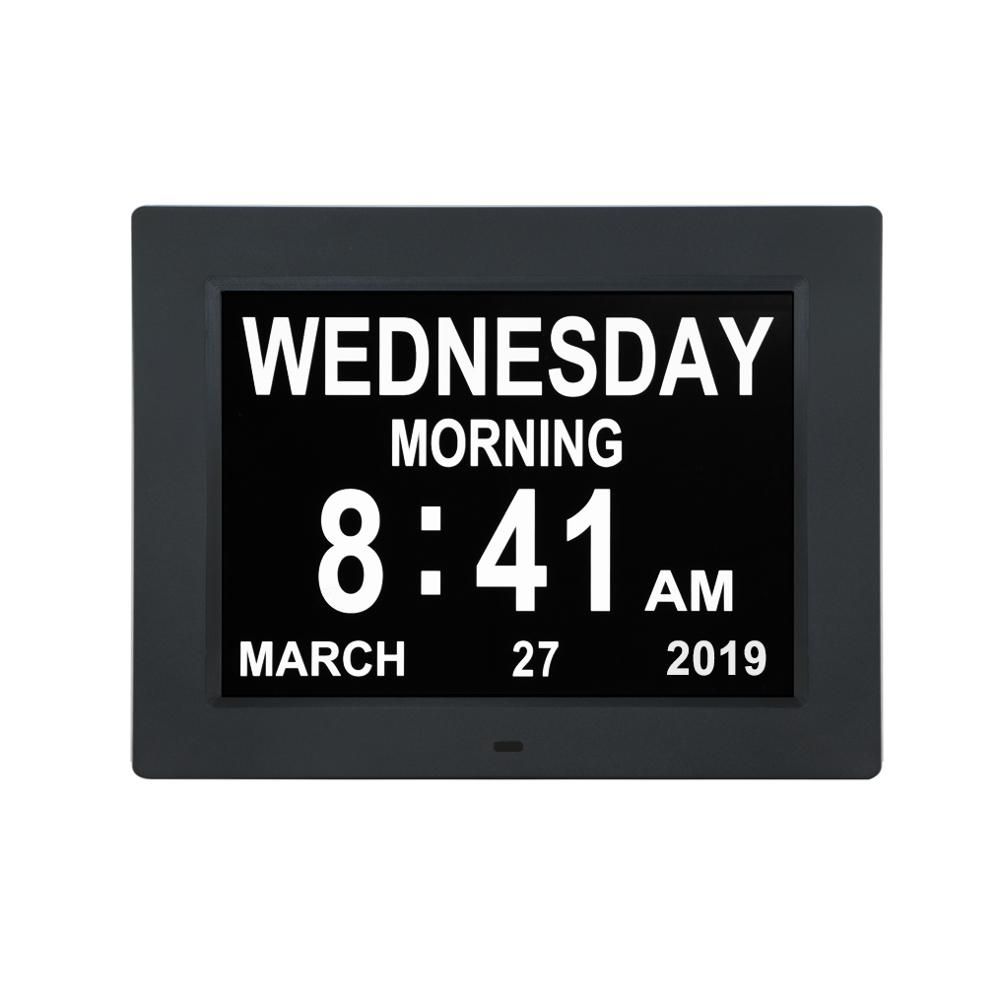 10 Inch Day Clock Calendar For Memory Loss Alzheimers