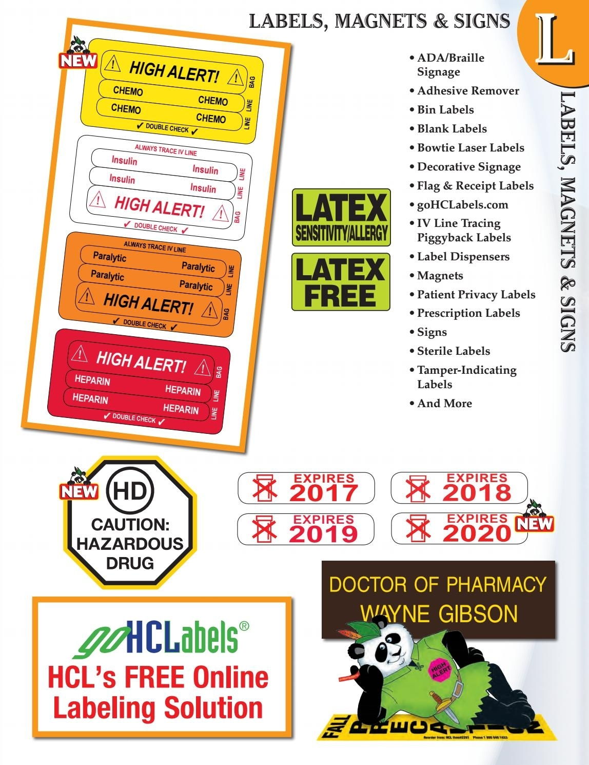 2017 - Peter Panda Labels By Health Care Logistics - Issuu