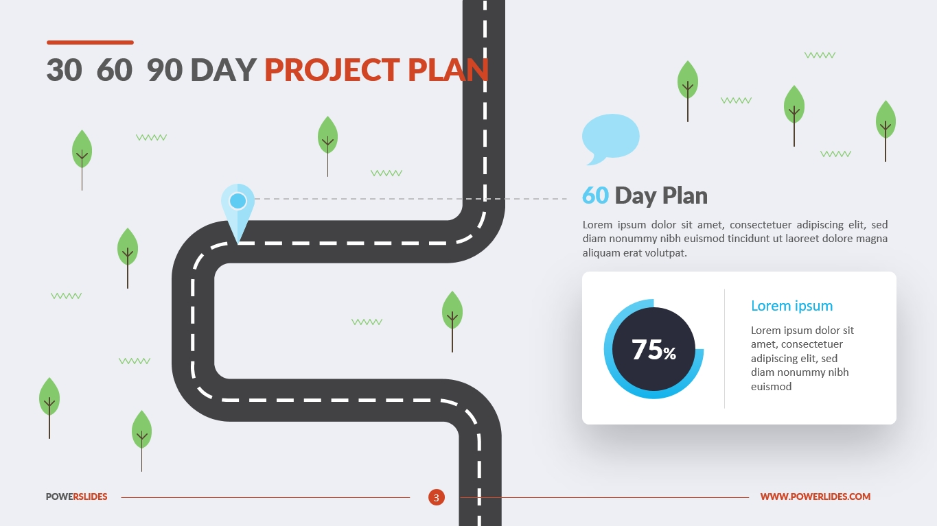 30 60 90 Day Plan Template | Download & Edit | Powerslides™