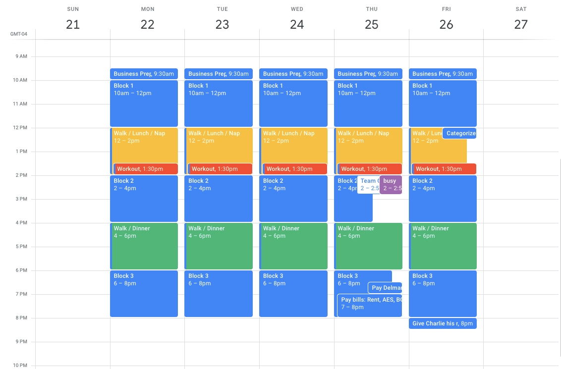 33 Google Calendar Hacks To Boost Your Productivity | Copper