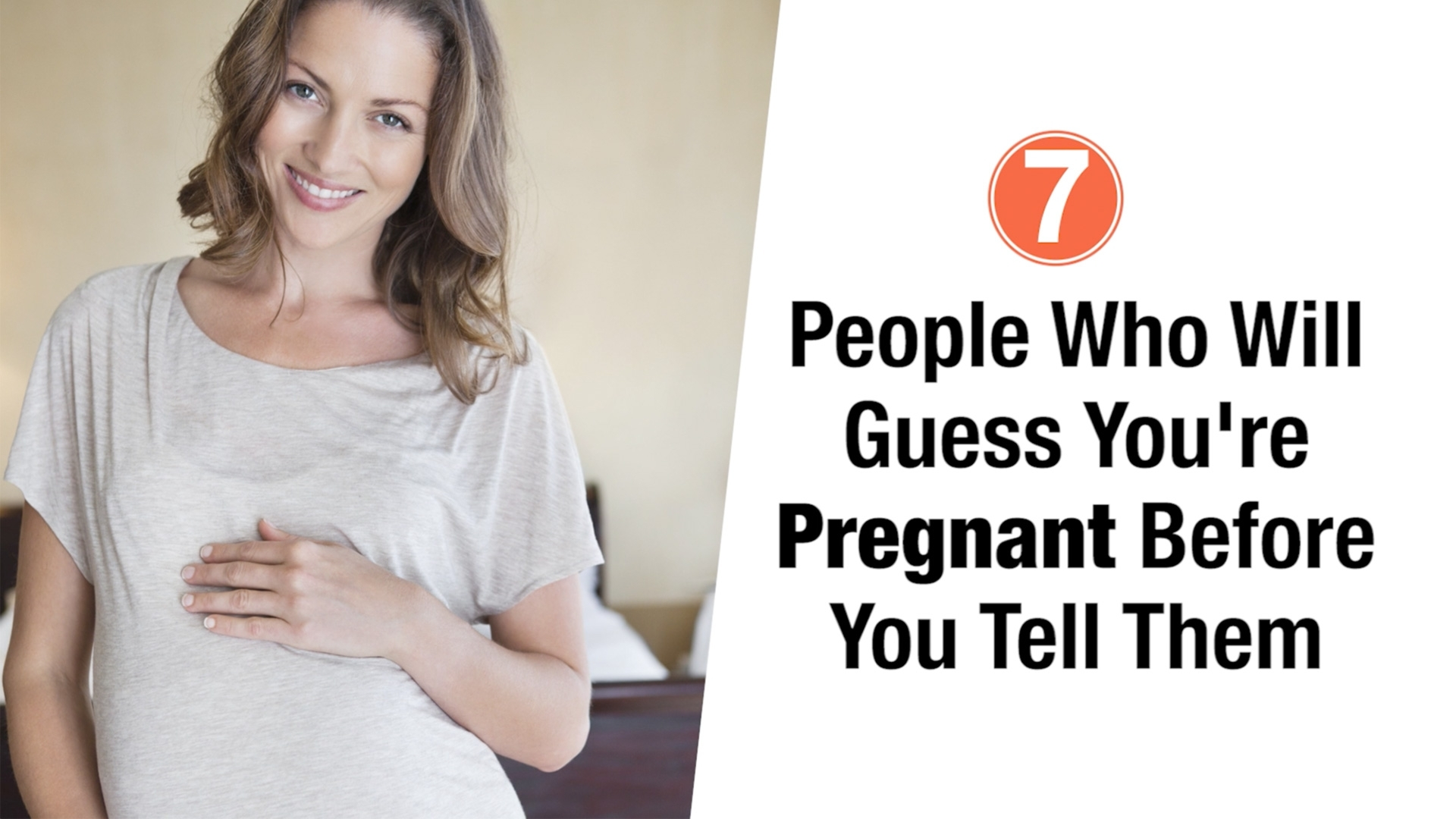 8 People Who Will Definitely Guess You're Pregnant | Parents