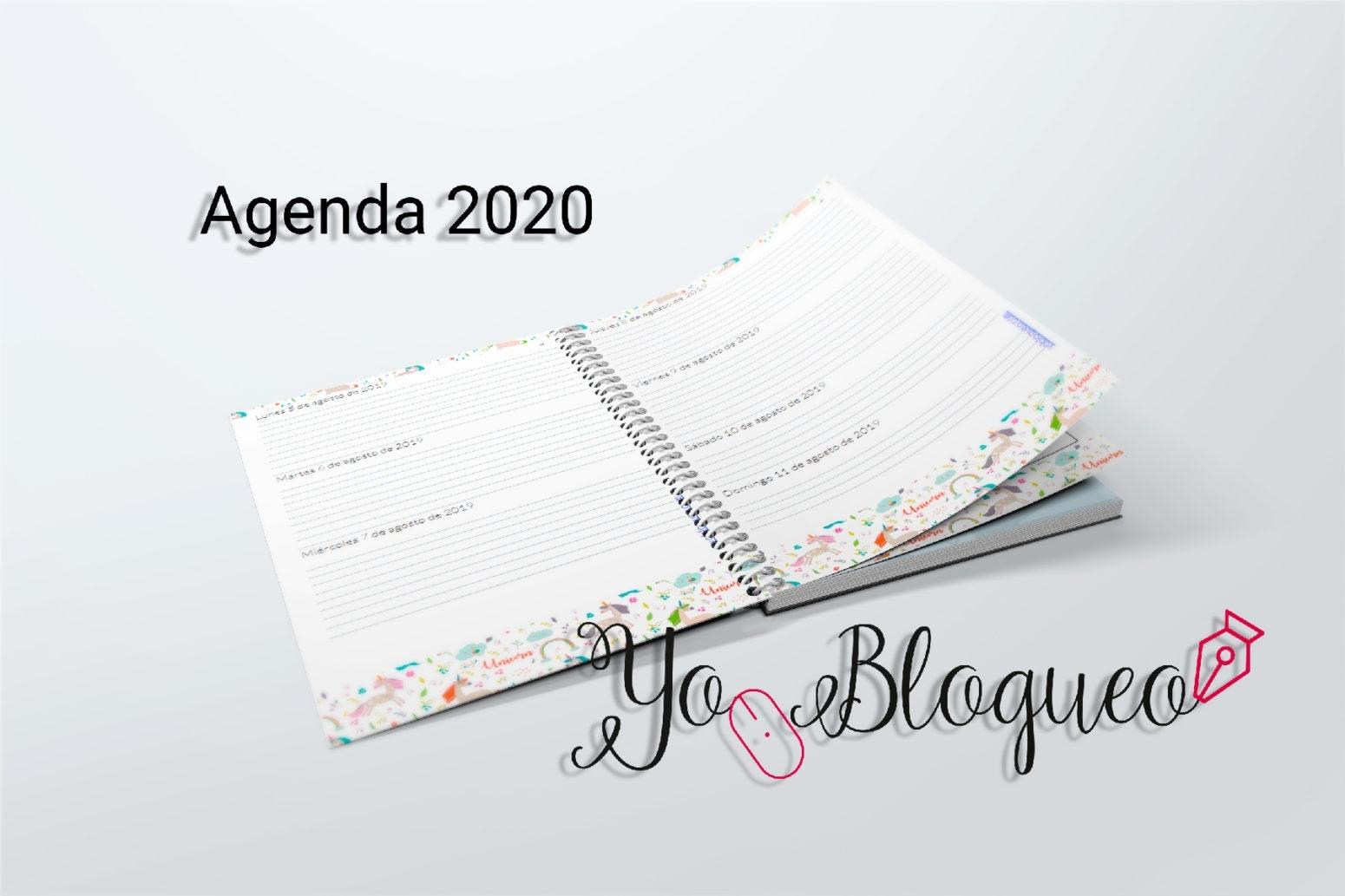 Agenda 2020 Imprimible Gratis Con Más De 390 Páginas   Yo