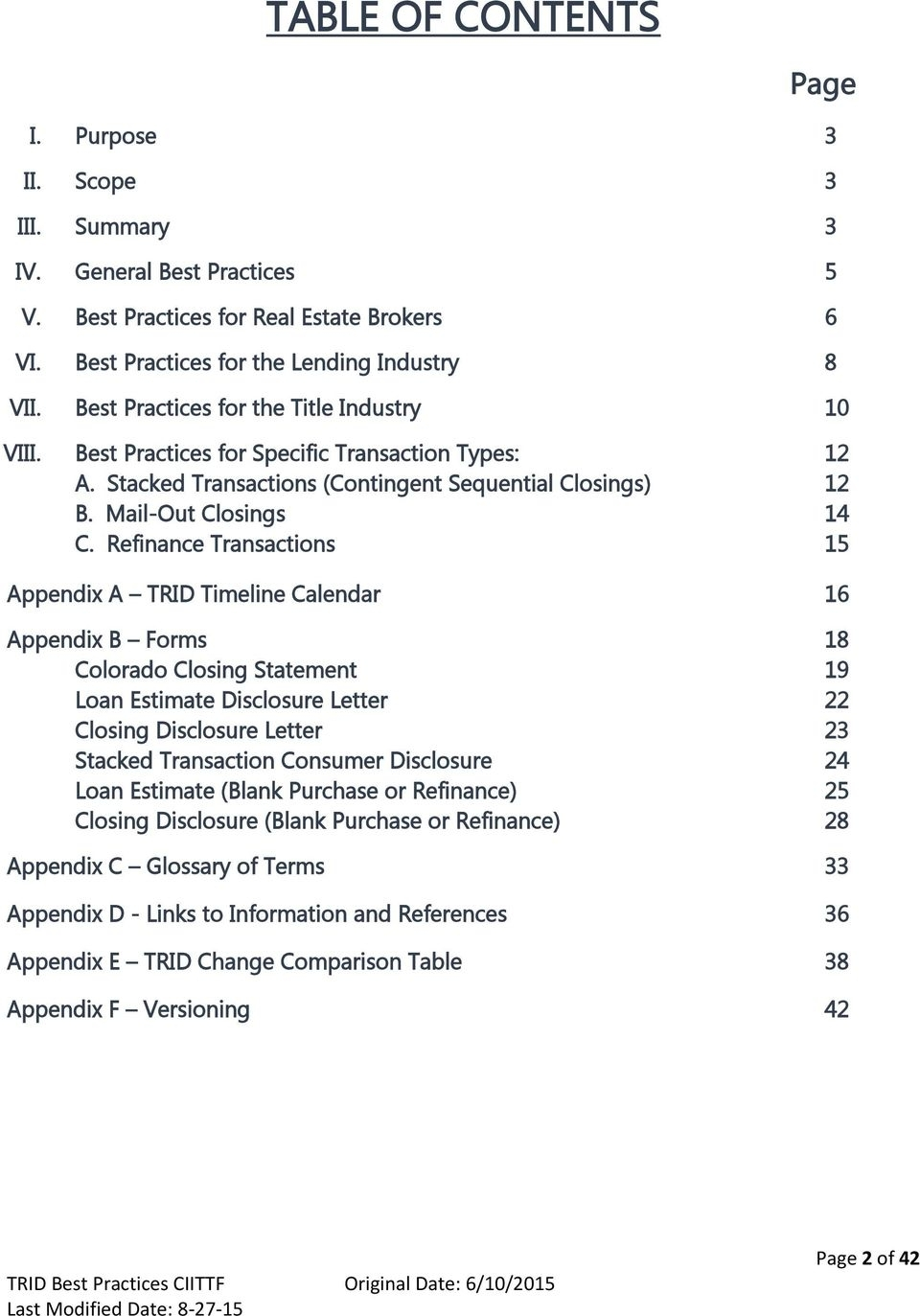 Best Practices Tila-Respa Integrated Disclosures - Pdf Free