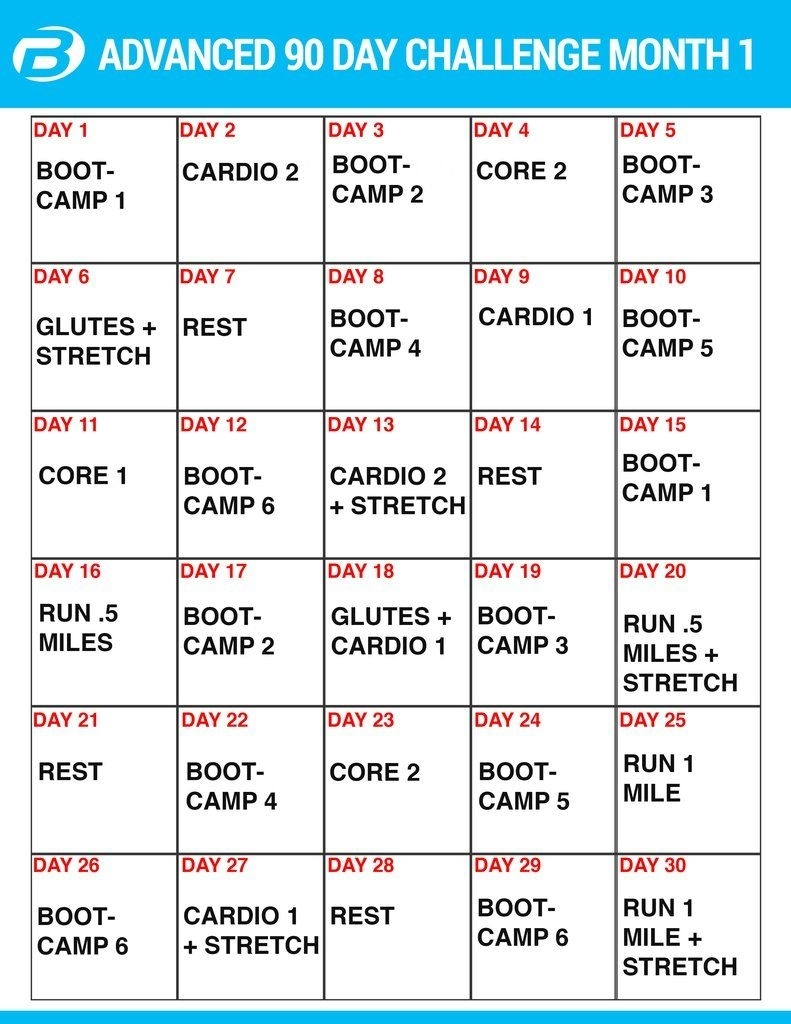 Burton Nutrition 90 Day Challenge Workouts And Create A Meal