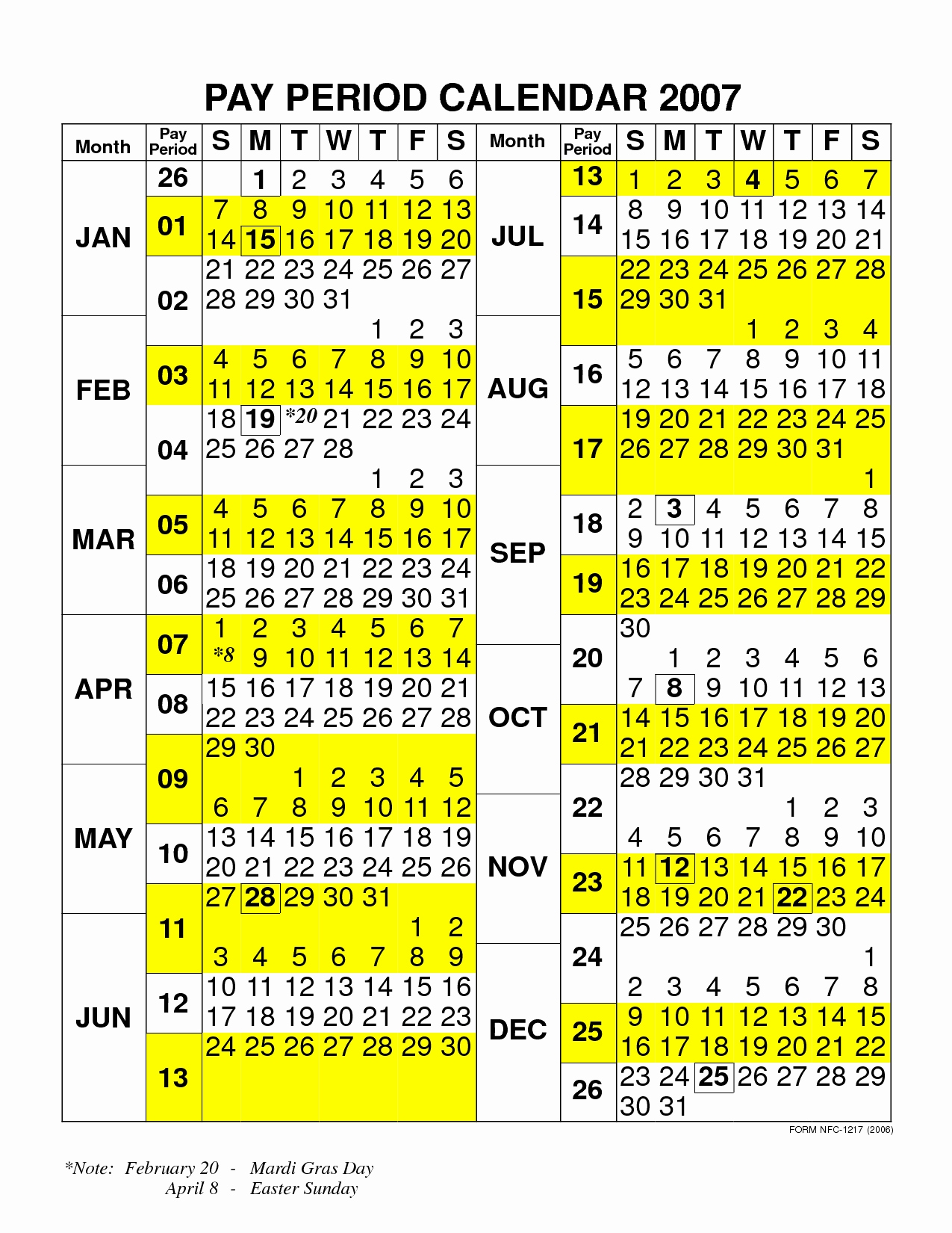 City Of Sf Payroll Calendar | Payroll Calendar 2020