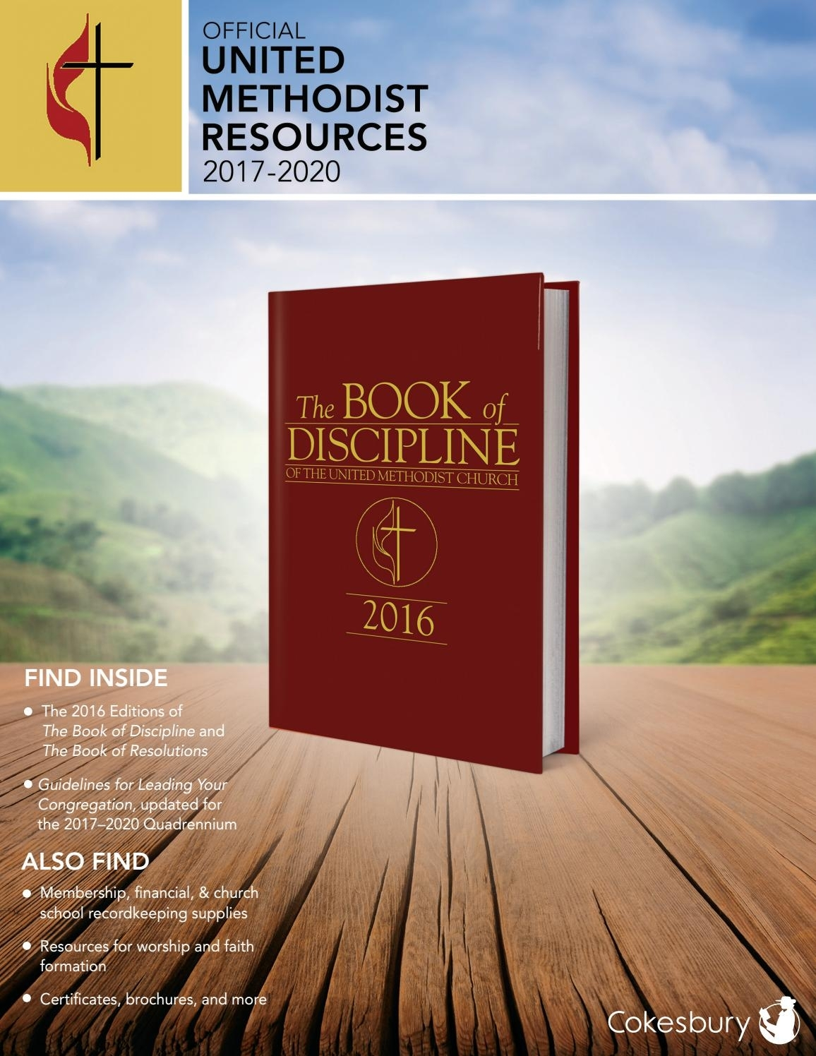 Cokesbury's Official United Methodist Resources 2017-2020 By
