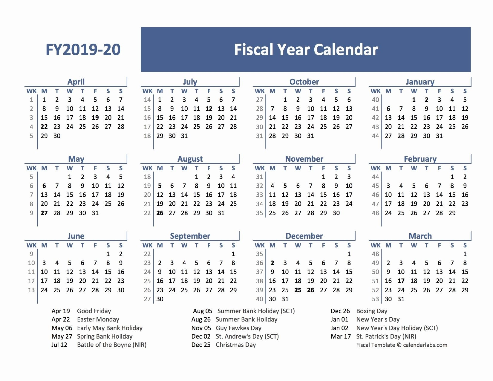 Elegant 60 Design School Year Printable Calendar 2019-2019