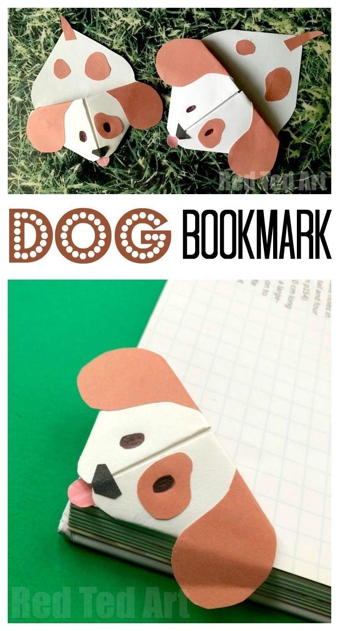 Emoji Dog Corner Bookmark (With Images)   Bookmark Craft