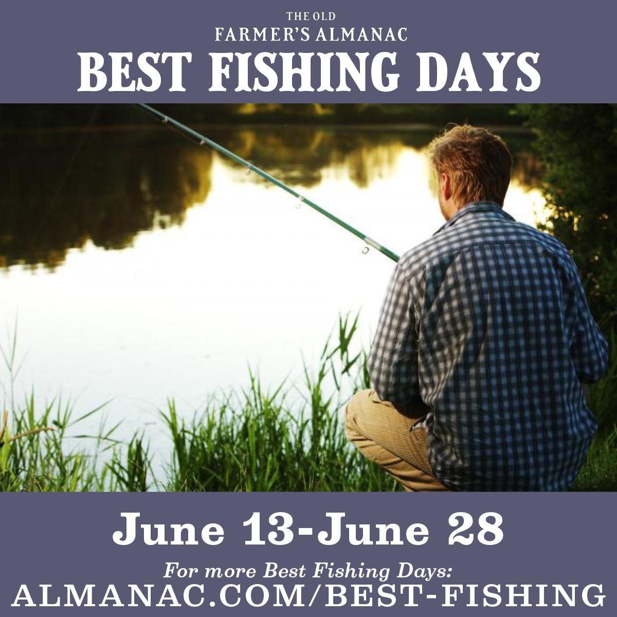 Fishing Calendar For 2020 | Best Fishing Days, Farmers