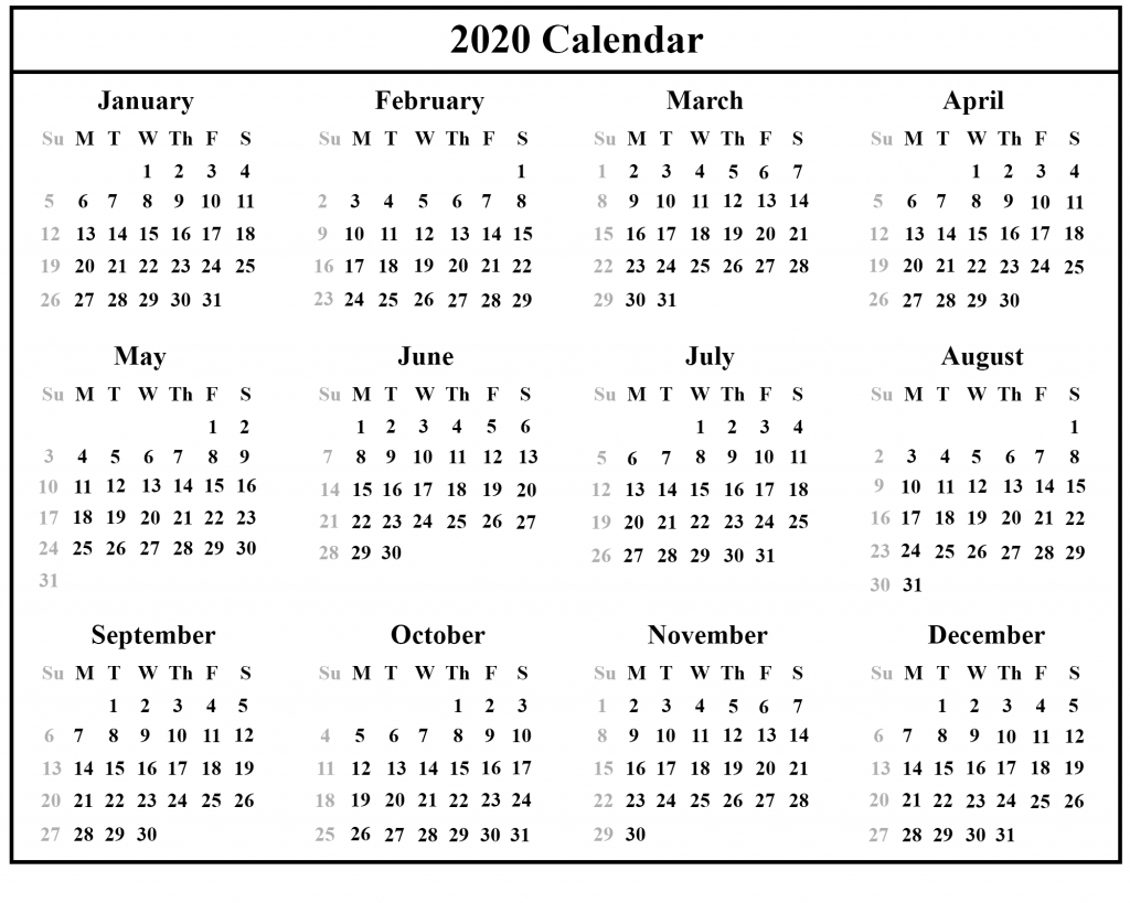 Free Australia 2020 Holidays Printable Calendar Templates In