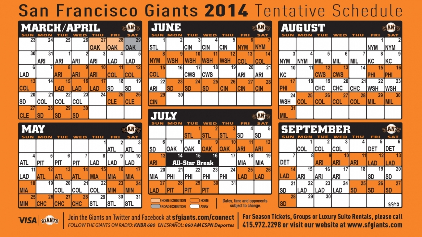 Free Download Ny Giants 2015 Schedule Printable Calendar