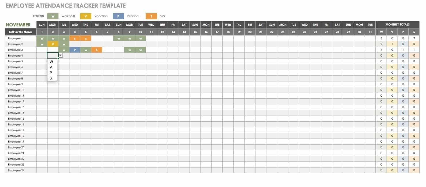 Free Human Resources Templates In Excel | Smartsheet