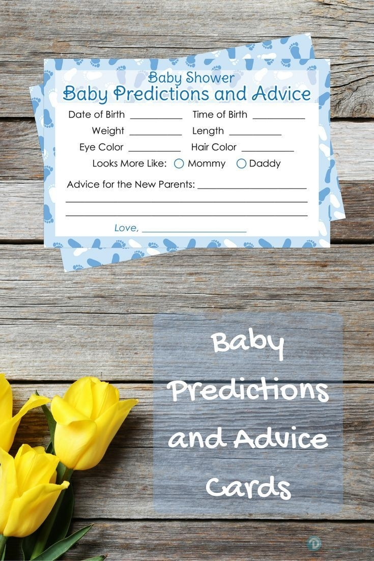 Have Your Guests Guess The Baby's Birth Date, Weight, Length