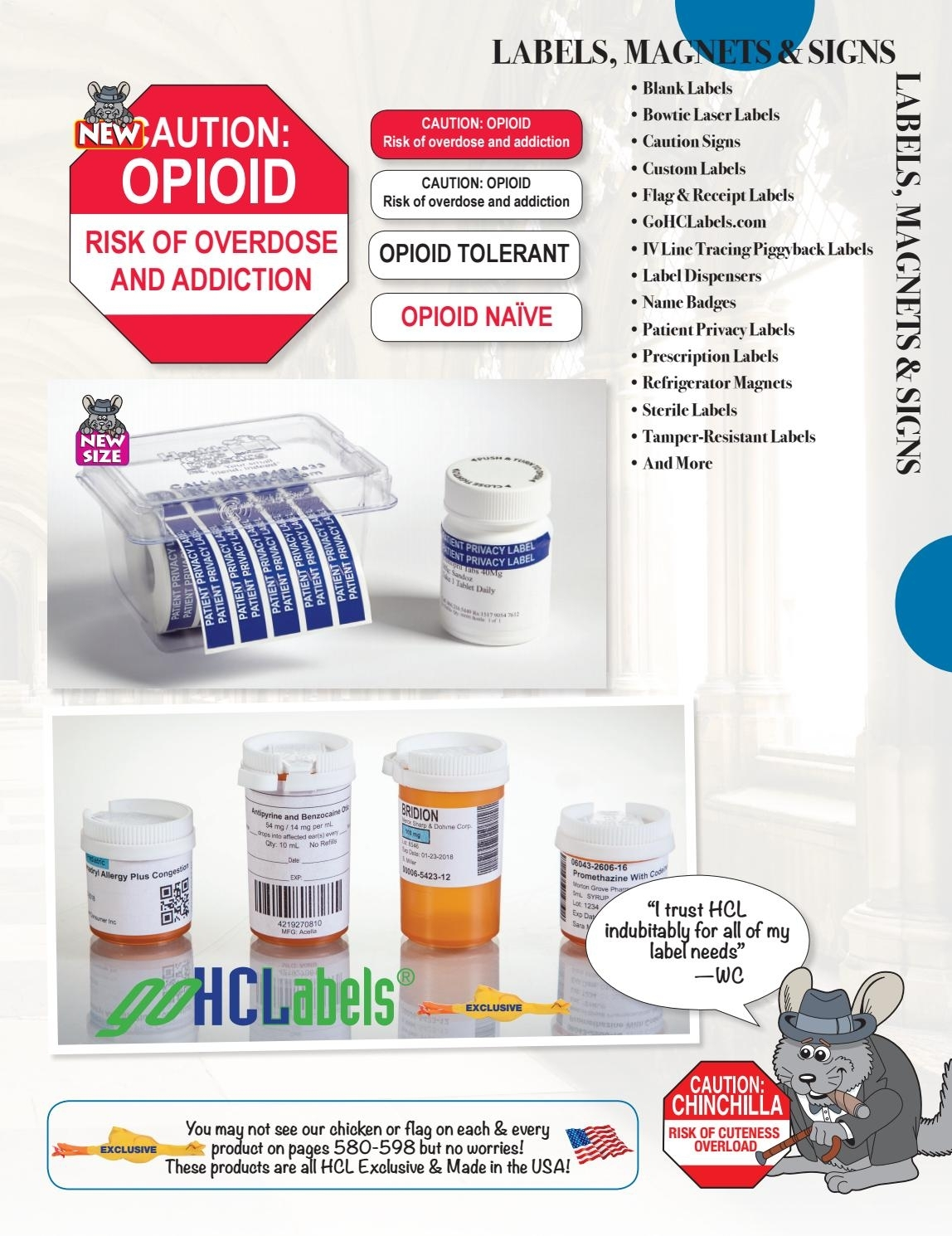 Hcl Winston Churchilla Labels By Health Care Logistics - Issuu