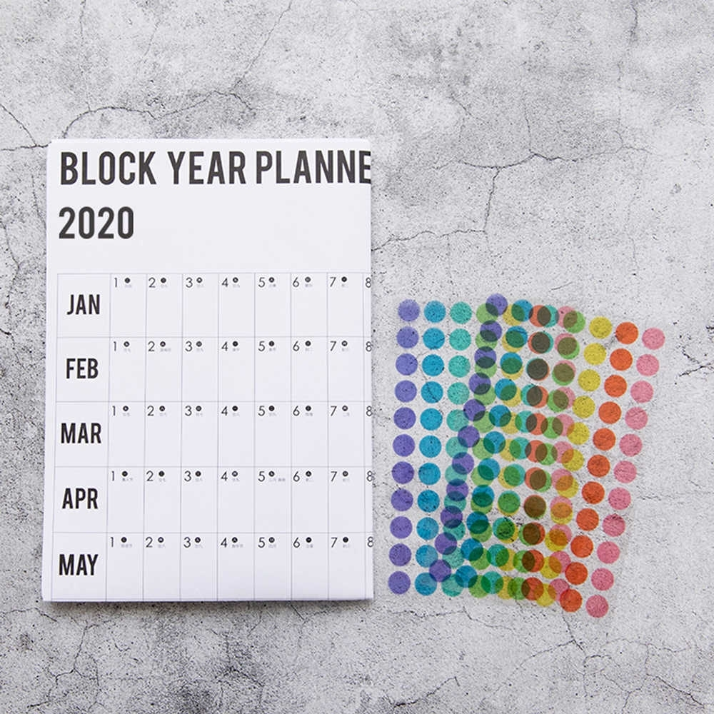 Home Wall Calendar 365 Days Daily Learning Schedule To Do List Kids Study  Periodic 2020 Planner Agenda Organizer Wall Stickers