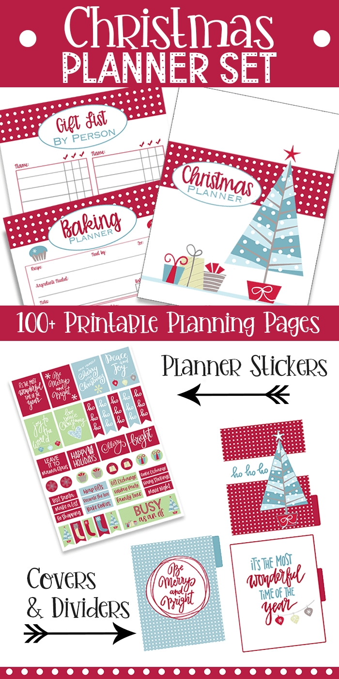 How To Make A Diy Christmas Happy Planner (With Printables