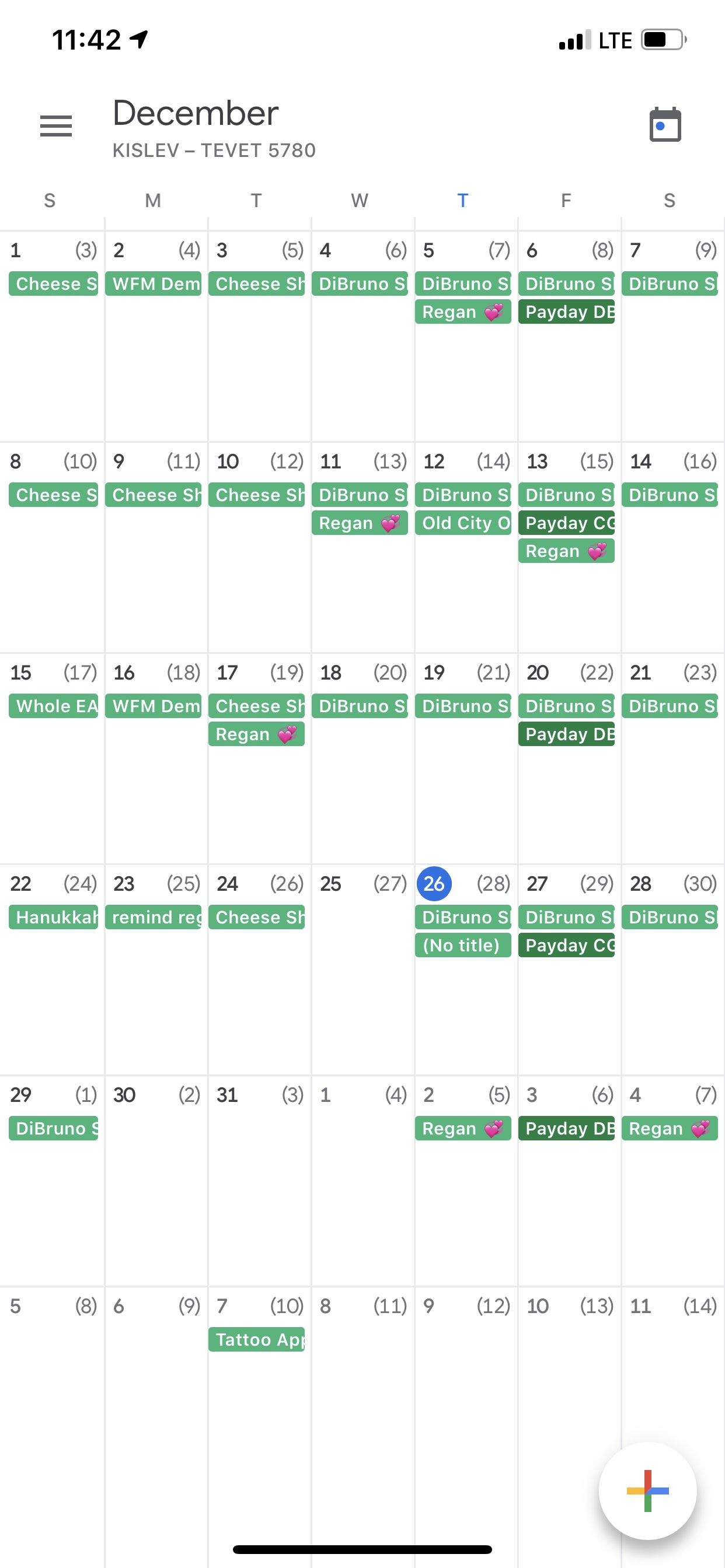 How To Restore Calender Event Colors? - Calendar Community