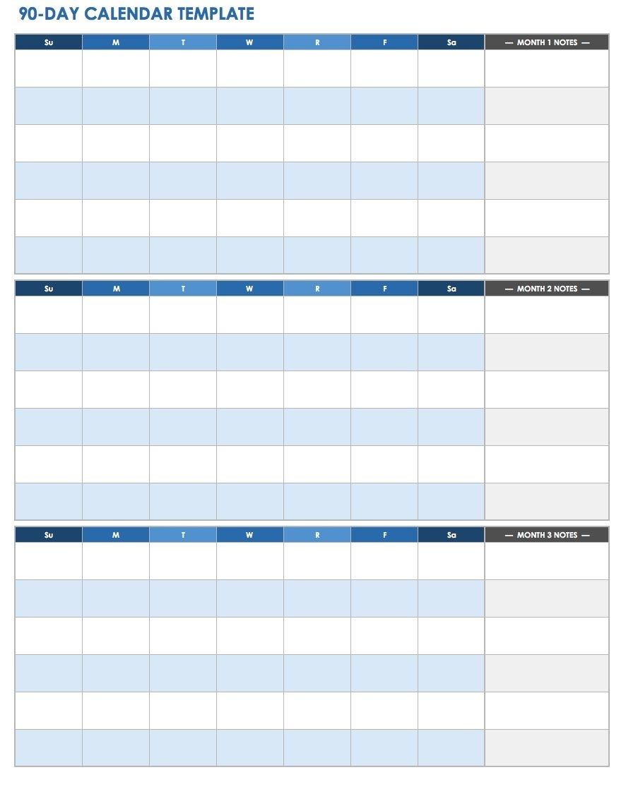 Ic-90-Day-Calendar-Template-Printable-Pdf-Doc – Ryan's