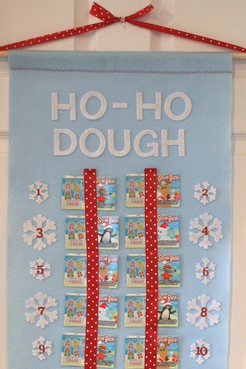 Lottery Ticket Advent Calendar (With Images)   Christmas
