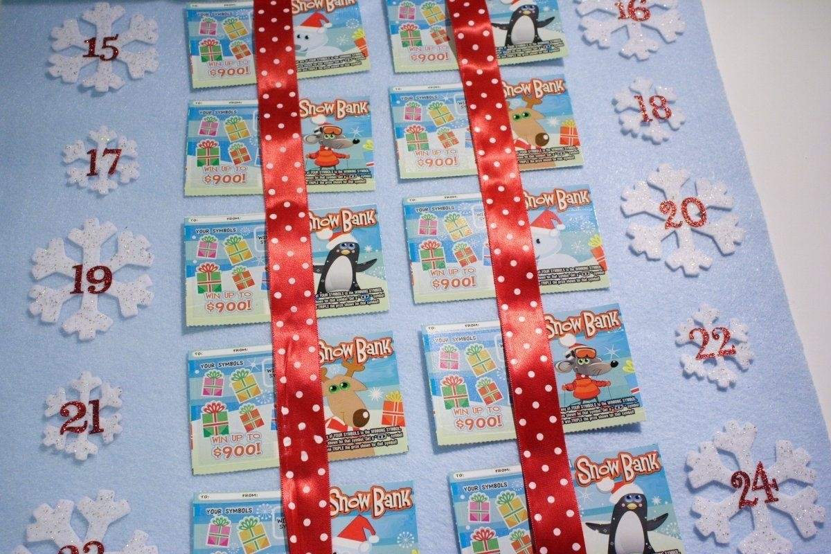 Lottery Ticket Advent Calendar (With Images) | Lottery