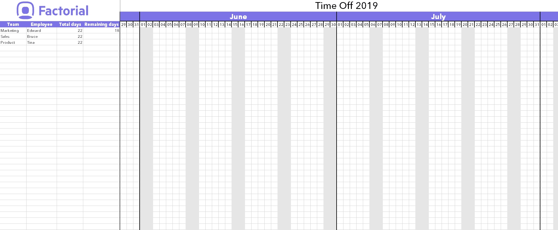 Manage Time Off Requests W/ Free Template | Factorial