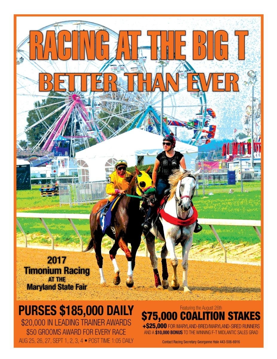 Maryland State Fair | Events Calendar | Live Thoroughbred