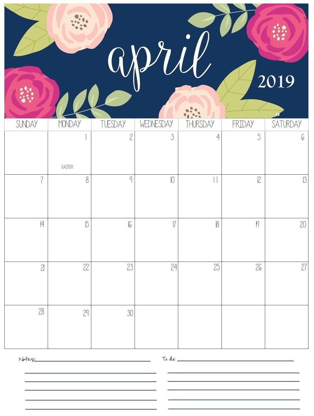 Monthly Printable (Con Imágenes)   Calendario Para Imprimir