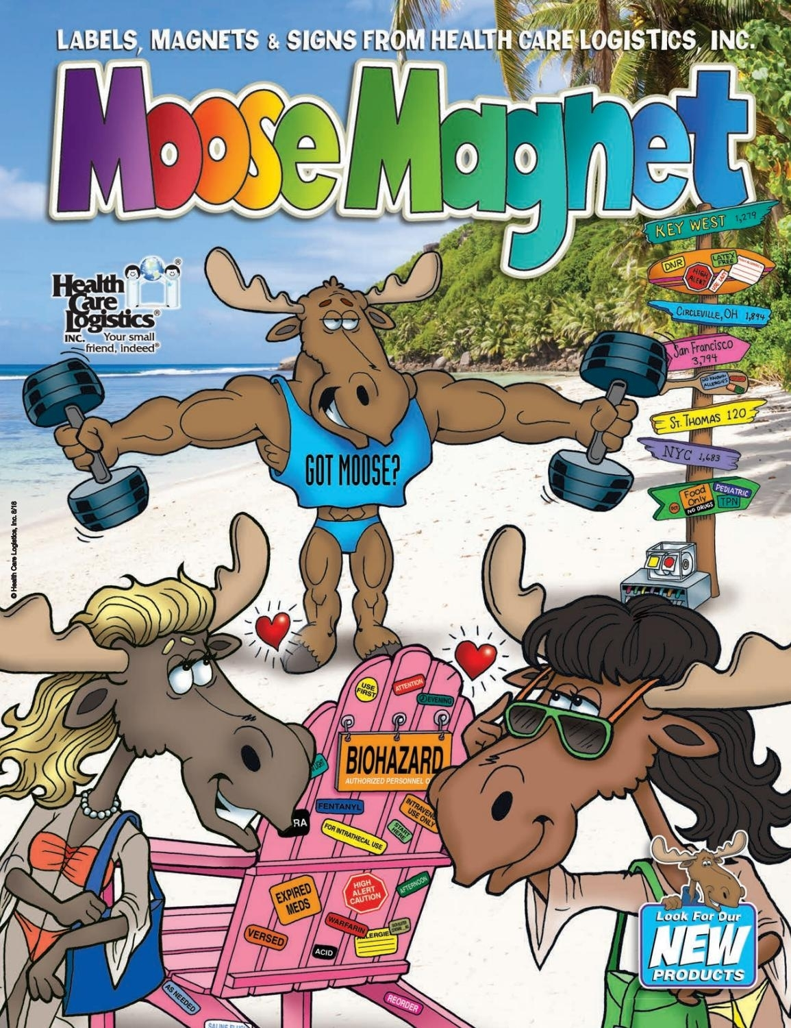 Moose Magnet - Labels By Health Care Logistics - Issuu