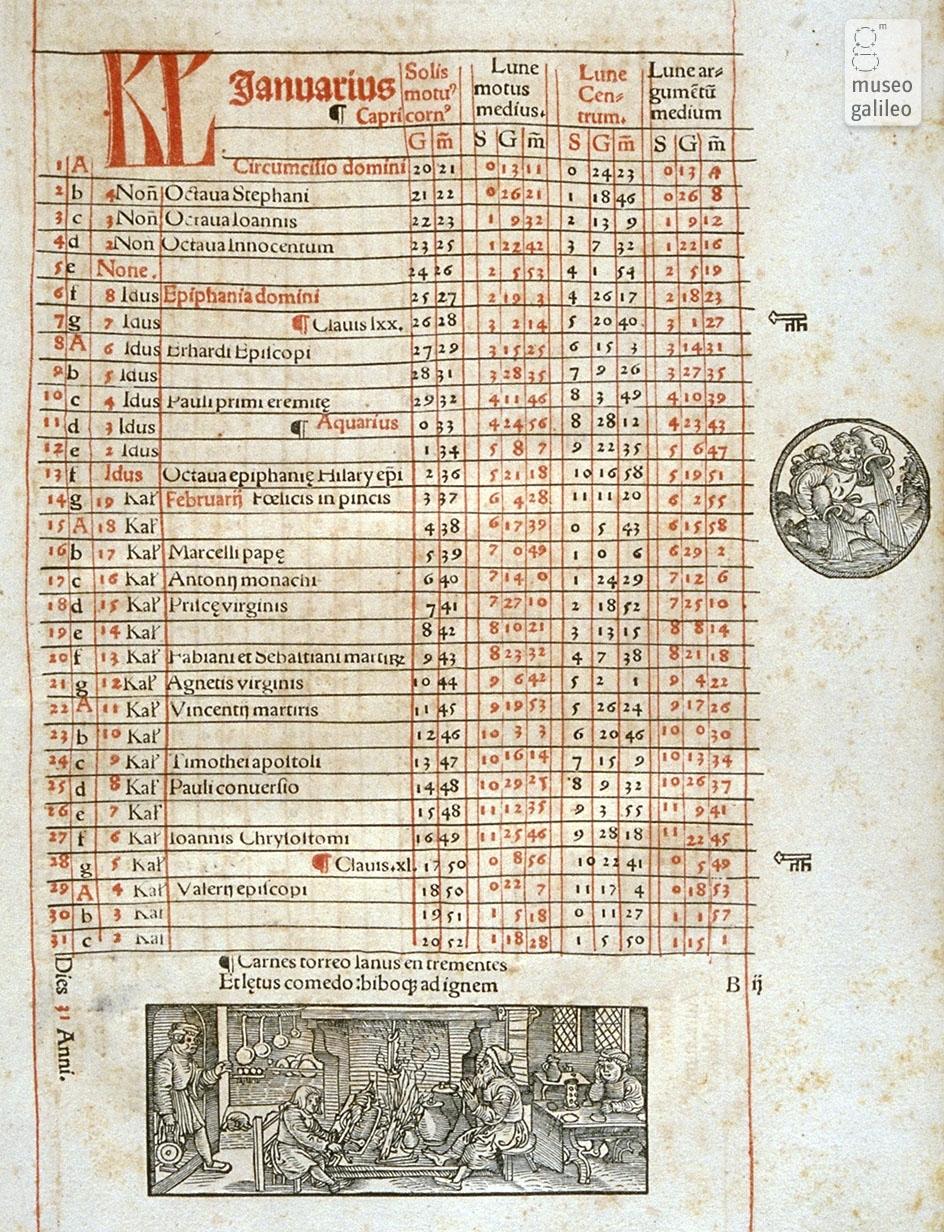 Museo Galileo - Approfondimento - Calendario
